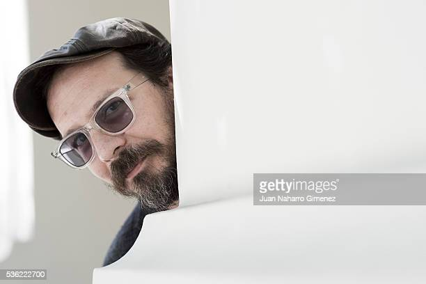 Spanish actor Fele Martinez poses during a portrait session during promotion of the film 'Nuestros Amantes' on May 31 2016 in Madrid Spain