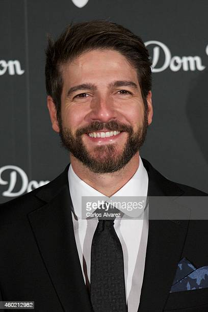Spanish actor Felix Gomez attends Dom Perignon party at the Duarte Palace on December 9 2014 in Madrid Spain