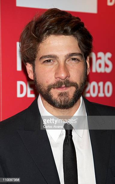 Spanish actor Felix Gomez attends 'Fotogramas Awards 2010' at Joy Eslava Club on March 14 2011 in Madrid Spain
