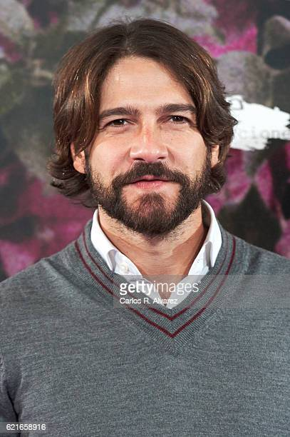 Spanish actor Felix Gomez attends 'Las Furias' premiere at Pavon Theater on November 7 2016 in Madrid Spain