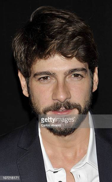 Spanish actor Felix Gomez attends 'Shangay Awards 2010' at Coliseum Theater on November 30 2010 in Madrid Spain