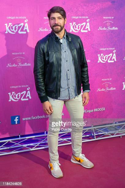 Spanish actor Felix Gomez attends the Cirque Du Soleil 'Kooza' premiere on October 29 2019 in Madrid Spain