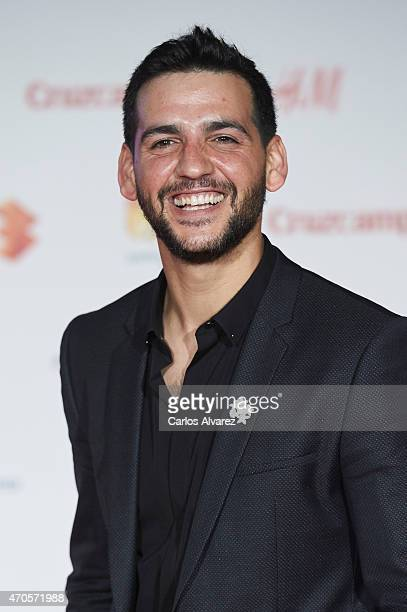 Spanish actor Fran Perea attends the Requisitos Para Ser Una Persona Normal premiere at the Cervantes Theater during the 18th Malaga Film Festival on...
