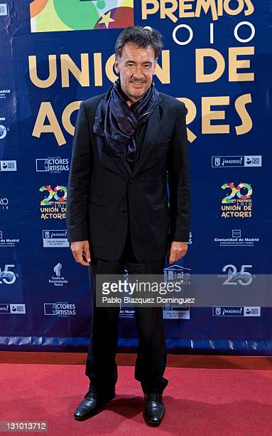 Spanish actor Francis Lorenzo attends XX Union de Actores Awards at Circo Price Theatre on October 31 2011 in Madrid Spain