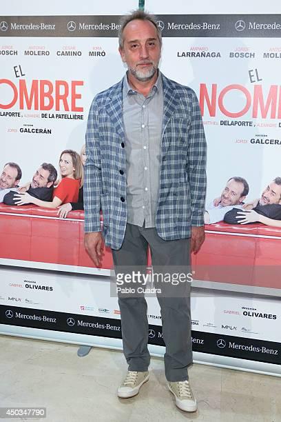 Spanish actor Gonzalo de Castro attends 'El Nombre' photocall on June 9 2014 in Madrid Spain