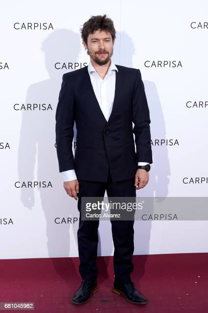 Spanish actor Jan Cornet attends Carpisa photocall presentation at the Italian Embassy on May 9 2017 in Madrid Spain