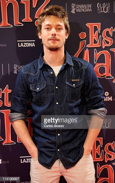 Spanish actor Jan Cornet attends Estas Ahi premiere at Palafox cinema on May 12 2011 in Madrid Spain