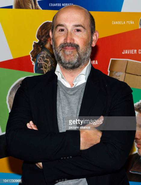 Spanish actor Javier Camara attends the premier of his movie 'Una pistola en cada mano' at MetropolKino in StuttgartGermany 26June 2013 The film...