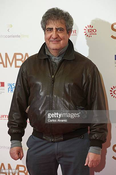 Spanish actor Javier Gil Valle 'Javivi' attends 'Samba' premiere at the Palafox cinema on February 12 2015 in Madrid Spain