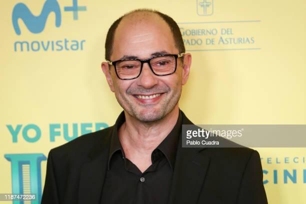 "Spanish actor Jordi Sanchez attends ""Si Yo Fuera Rico"" premiere at Capitol Cinema on November 13, 2019 in Madrid, Spain."