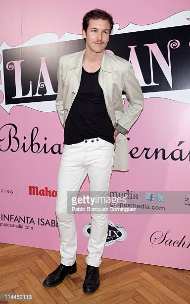 Spanish actor Jorge Suquet attends 'La Gran Depresion' premiere at Infanta Isabel Theatre on May 19, 2011 in Madrid, Spain.