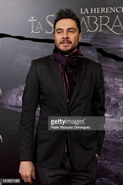 Spanish actor Jose Manuel Seda attends 'La Sombra Prohibida' Premiere at Palafox Cinema on January 27 2011 in Madrid Spain