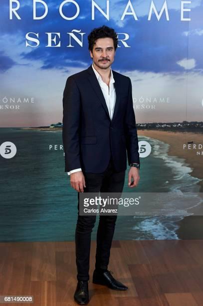 Spanish actor Jose Manuel Seda attends the 'Perdoname Senor' photocall at Mediaset Studios on May 10 2017 in Madrid Spain