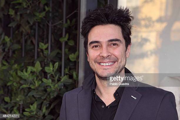 Spanish actor Jose Manuel Seda attends the premiere of El Profeta Loco at Galileo Theater on April 11 2014 in Madrid Spain