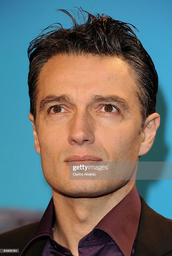 Spanish actor Josep Linuesa attends the premiere of 'Yes Man' at Capitol Cinema December 11, 2008 in Madrid, Spain.