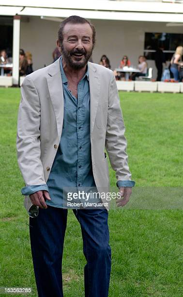 Spanish actor Juan Diego poses during a photocall for his latest film 'Insensibles' at the 45th Sitges Film Festival on October 6 2012 in Sitges Spain
