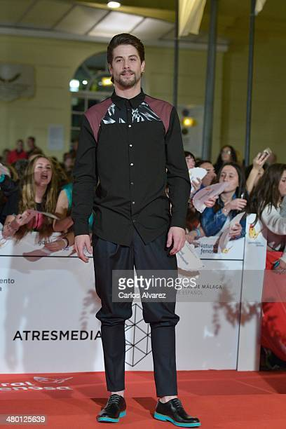 "Spanish actor Luis Fernandez attends the ""Carmina y Amen"" premiere during the 17th Malaga Film Festival on March 22, 2014 in Malaga, Spain."