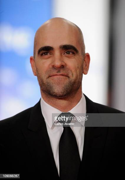 Spanish actor Luis Tosar arrives to the 2011 edition of the 'Goya Cinema Awards' ceremony at Teatro Real on February 13 2011 in Madrid Spain