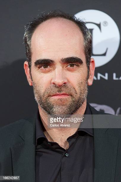Spanish actor Luis Tosar attends the 'Alacran Enamorado' premiere at the Capitol cinema on April 10 2013 in Madrid Spain