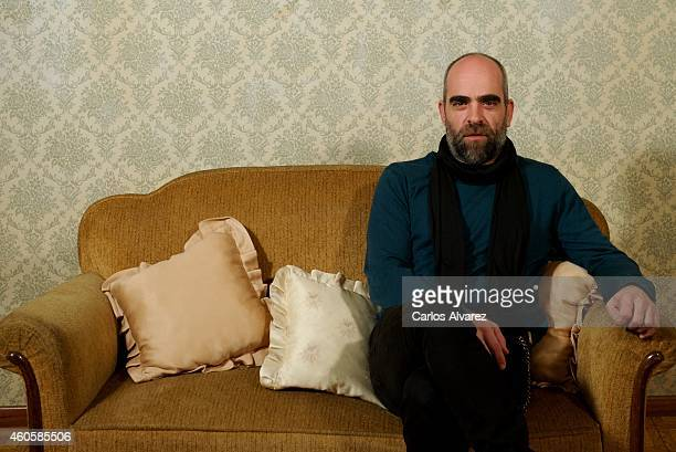 Spanish actor Luis Tosar attends the 'Musaranas' photocall on December 17 2014 in Madrid Spani
