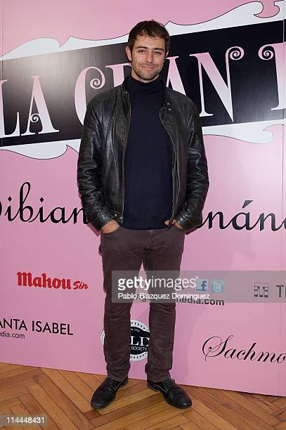 Spanish actor Manu Fullola attends 'La Gran Depresion' premiere at Infanta Isabel Theatre on May 19 2011 in Madrid Spain