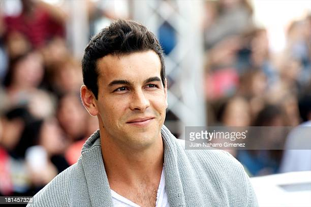 Spanish actor Mario Casas arrives at Maria Cristina Hotel during 61st San Sebastian Film Festival on September 21 2013 in San Sebastian Spain