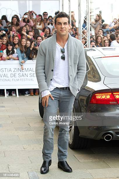 Spanish actor Mario Casas arrives at the Maria Cristina Hotel during the 61th San Sebastian International Film Festival on September on September 21...