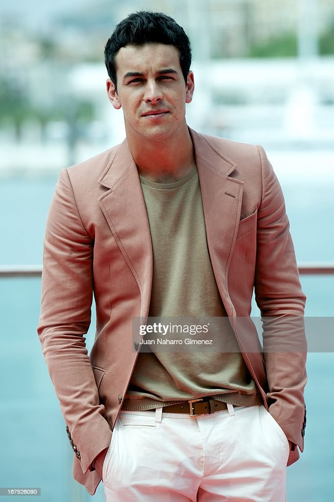Spanish actor Mario Casas attends 'La Mula' photocall during 16 Malaga Film Festival at Port on April 26, 2013 in Malaga, Spain.
