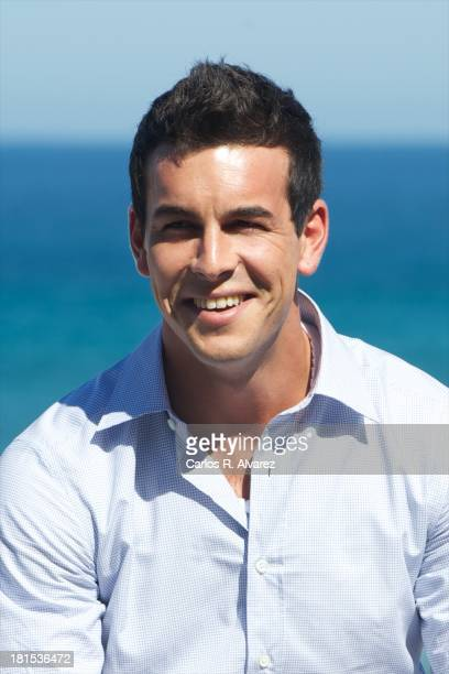 Spanish actor Mario Casas attends the 'Las Brujas de Zugarramurdi' photocall during the 61th San Sebastian International Film Festival at the Kursaal...