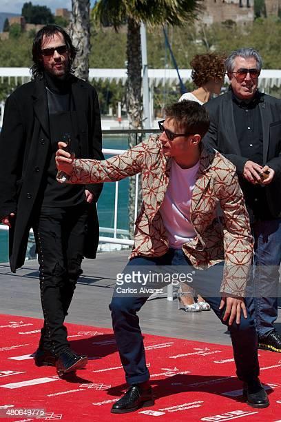 Spanish actor Martin Rivas attends the Por un Punado de Besos photocall during the 17th Malaga Film Festival 2014 Day 6 on March 26 2014 in Malaga...