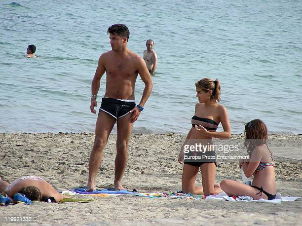 Spanish actor Maxi Iglesias is seen on July 27 2011 in Ibiza Spain