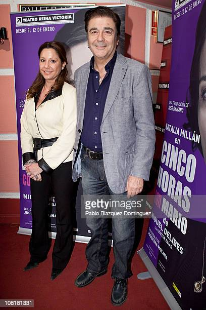 Spanish actor Maximo Valverde attends 'Cinco Horas con Mario' Premiere at Reina Victoria Theatre on January 19 2011 in Madrid Spain