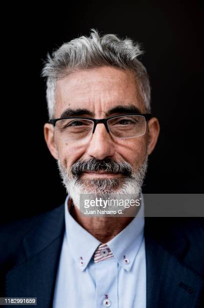 Spanish actor Micky Molina poses for a portrait session during 64th Seminci International Film Festival on October 21 2019 in Valladolid Spain