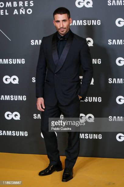 Spanish actor Miguel Angel Silvestre attends 'GQ Men Of The Year' awards 2019 at Westin Palace Hotel on November 21 2019 in Madrid Spain