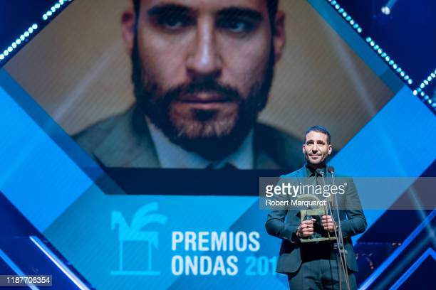 Spanish actor Miguel Angel Silvestre attends the Onda Awards 2019 Gala held at the Teatre Liceu on November 14 2019 in Barcelona Spain