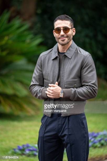 Spanish actor Miguel Angel Silvestre attends the Ondas Awards 2019 photcall on November 14 2019 in Barcelona Spain