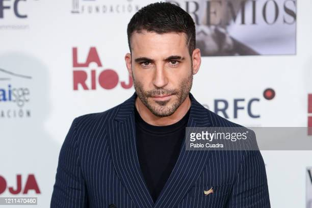 Spanish Actor Miguel Angel Silvestre attends the 'Union De Actores' awards 2020 at Circo Price Theater on March 09, 2020 in Madrid, Spain.