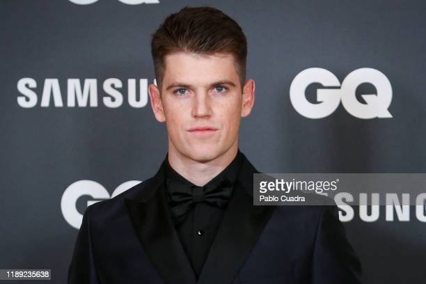 Spanish actor Miguel Bernardeau attends 'GQ Men Of The Year' awards 2019 at Westin Palace Hotel on November 21 2019 in Madrid Spain