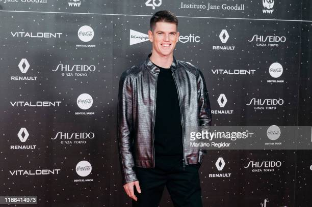 Spanish actor Miguel Bernardeau attends 'Los40 music awards 2019' photocall at Wizink Center on November 08 2019 in Madrid Spain