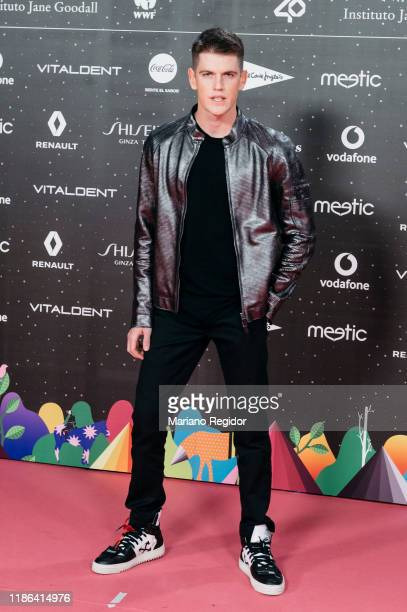 Spanish actor Miguel Bernardeau attends 'Los40 music awards 2019' photocall at Wizink Center on November 08, 2019 in Madrid, Spain.