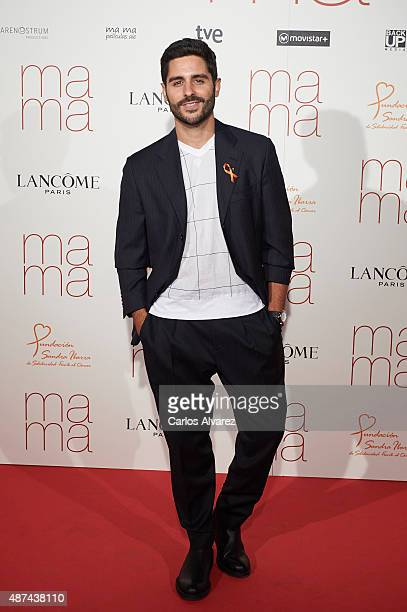 Spanish actor Miguel Diosdado attends 'Ma Ma' premiere at the Capitol cinema on September 9 2015 in Madrid Spain