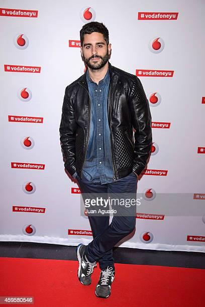 Spanish actor Miguel Diosdado attends the Leiva concert at Joy Eslava Club on November 25 2014 in Madrid Spain