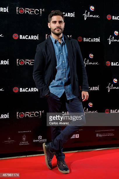 Spanish actor Miguel Diosdado attends the 'REC 4' premiere at the Capitol cinema on October 27 2014 in Madrid Spain