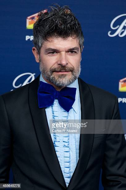 Spanish actor Nacho Guerreros attends the '40 Principales Awards' 2013 photocall at Palacio de los Deportes on December 12 2013 in Madrid Spain