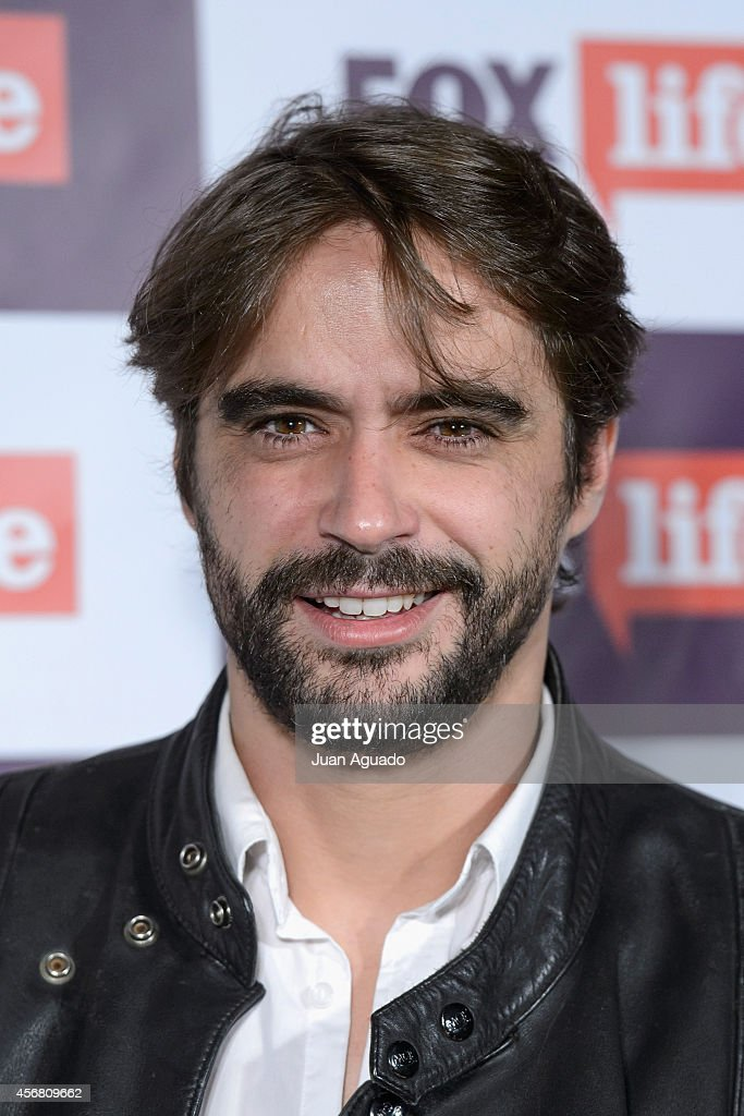 Spanish actor Nacho Lopez attends the Fox Live new channel cocktail