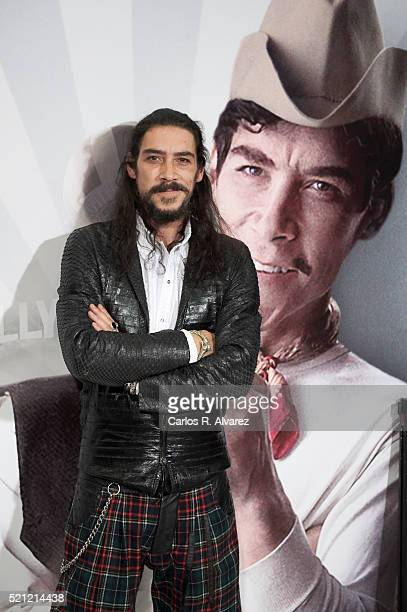 Spanish actor Oscar Jaenada attends Cantinflas premiere at the Verdi cinema on April 14 2016 in Madrid Spain