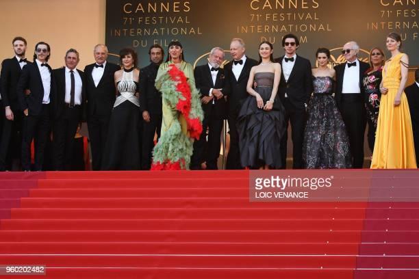 Spanish actor Oscar Jaenada Spanish actor Sergi Lopez British screenwriter Tony Grisoni a guest Spanish actor Jordi Molla Spanish actress Rossy de...