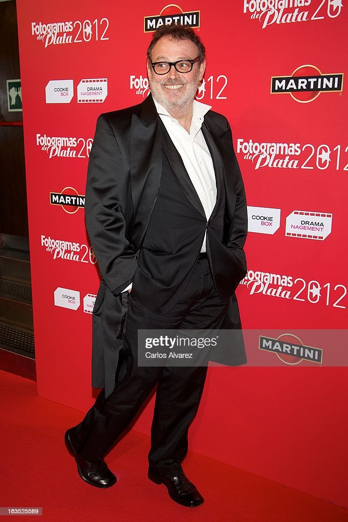 Spanish actor Pablo Carbonell attends Fotogramas awards 2013 at the Joy Eslava Club on March 11, 2013 in Madrid, Spain.