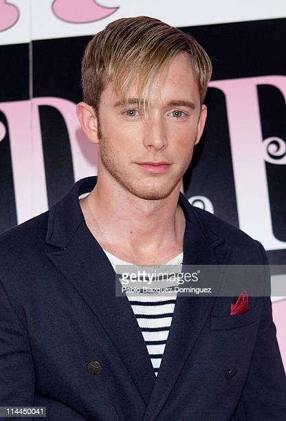 Spanish actor Pablo Rivero attends 'La Gran Depresion' premiere at Infanta Isabel Theatre on May 19, 2011 in Madrid, Spain.