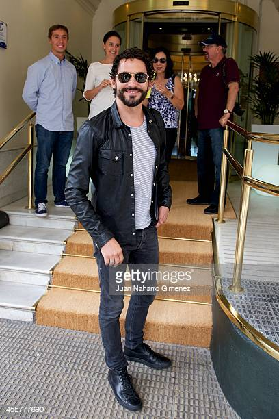 Spanish actor Paco Leon arrives at the Londres Hotel during the 62st San Sebastian International Film Festival on September 20 2014 in San Sebastian...